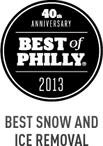 Philadelphia Magazine's Best of Philly 2Ol3 - Best Snow and Ice Removal